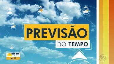 Fim de semana será de tempo nublado em Sergipe - Fim de semana será de tempo nublado em Sergipe.