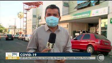 MP-PI faz inspeção no Hospital Natan Portela - MP-PI faz inspeção no Hospital Natan Portela