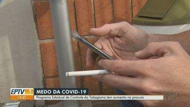 Aumenta procura por programa estadual de controle ao tabagismo - Atendimentos podem ser realizados online por