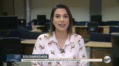 Campanha do Agasalho arrecada roupas e cobertores em Ribeirão Preto, SP - Confira esse e outros destaque no 'Direto da Redação', com Heloisa Zaruh