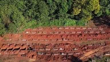 Rondônia registra recorde de mortes em 24 horas - Passam de 10 mil os casos confirmados.