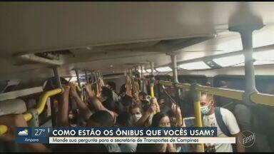 Secretário de Transportes de Campinas responde questões sobre mobilidade urbana - Carlos José Barreiro fala sobre situações de superlotação enfrentadas por passageiros diariamente no transporte coletivo, que aumentam os riscos de infecção pela Covid-19.
