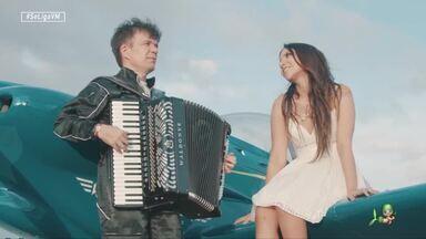 """Waldonys mostra clipe em parceria com Bruna Ene - """"Ninguém Te Fez Voar"""" é o novo trabalho"""