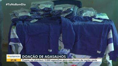 Confira: projeto vai distribuir 3 mil agasalhos para estudantes da região oeste da Bahia - Ação acontece na cidade de Barreiras, no interior do estado.