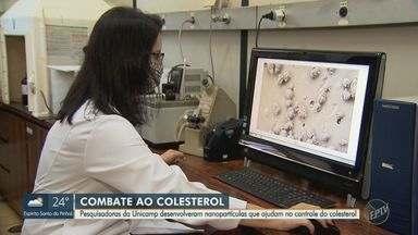 Pesquisadoras da Unicamp desenvolvem nanopartículas que ajudam no controle do colesterol - O estudo é feito a partir de óleos de cozinha que auxiliam no combate a doença.