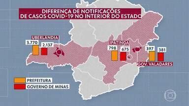 Prefeituras de cidades mais populosas de Minas têm mais casos de Covid-19 do que estado - A diferença nos dados foi confirmada em um levantamento do G1.