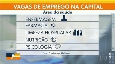 Desemprego aumenta em SP com a pandemia - 12 em cada 100 pessoas ficaram desempregadas na capital. Área médica é uma das poucas exceções, e abriu vagas no período.