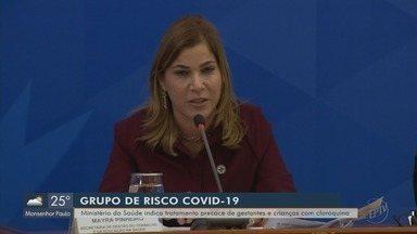 Ministério da Saúde indica tratamento precoce de gestantes e crianças com cloroquina - Viviane Abreu explica mudança