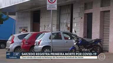 Sarzedo registra primeira morte por Covid-19 - Caso ainda não está no balanço da Secretaria Estadual de Saúde.