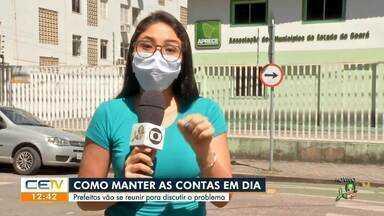 Prefeitos vão discutir contas públicas do Estado devido pandemia - Saiba mais no g1.com.br/ce