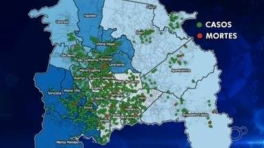 Prefeitura de Sorocaba faz mapeamento de casos de coronavírus - A Prefeitura de Sorocaba (SP) divulgou nesta terça-feira (16) dados de um mapeamento feito na cidade sobre casos envolvendo a Covid-19.