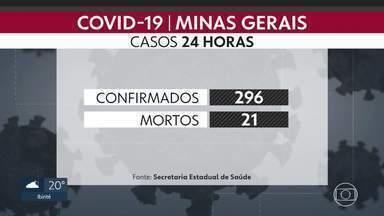 Minas Gerais tem mais de 500 mortes por coronvaírus - São 502 mortes registradas no estado, 76 delas em Belo Horizonte. Governo de Minas informou que tem orientado algumas prefeituras a tomarem medidas para diminuir os índices da Covid-19.