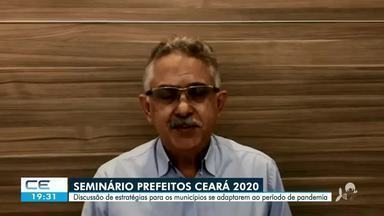 Seminário Prefeitos Ceará 2020 - Saiba mais em g1.com.br/ce