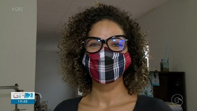 Costureiras de Petrolina investem na produção de máscaras com estampas juninas - Enquanto os amantes de festejos juninos mantêm o estilo, as costureiras da cidade aproveitam para faturar.