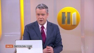 Brasil registra 1.338 mortes por Covid-19 nas últimas 24 horas - O número de vítimas do coronavírus chegou a 45.456 mil, segundo levantamento do consórcio de veículos de imprensa.