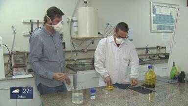 Empresa de São Carlos desenvolve tecido capaz de eliminar o novo coronavírus - Material foi criado em parceria com a USP e a UFSCar e deve estar disponível no mercado até o próximo mês.