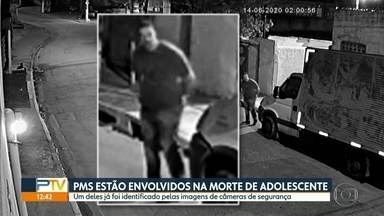 PMs estão envolvidos em assassinato de adolescente na Zona Sul, diz polícia - Um dos agentes foi identificado por câmeras de segurança.