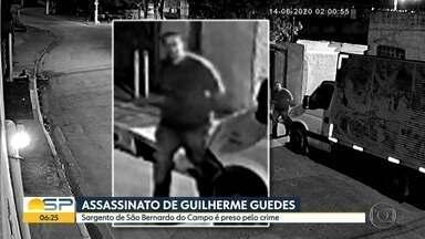 Sargento da PM é preso suspeito de assassinar adolescente Guilherme Guedes - Ele foi identificado pela Polícia como um dos homens que aparece em imagens de câmeras de segurança.