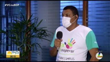 Campanha arrecada alimentos para ajudar familias durante a pandemia - As doações podem ser feitas na sede da cooperativa que fica na avenida Conselheiro Furtado.