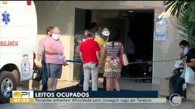 Pacientes encontram dificuldades para conseguir vagas em hospitais de Teresina - Pacientes encontram dificuldades para conseguir vagas em hospitais de Teresina