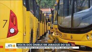 Transporte coletivo volta a circular em Jaraguá do Sul na segunda-feira (22) - Transporte coletivo volta a circular em Jaraguá do Sul na segunda-feira (22)