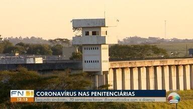 Nas penitenciárias do Oeste Paulista, 70 servidores foram diagnosticados com a Covid-19 - Representam 70% dos casos da região.