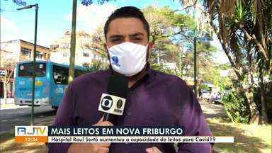 Hospital Raul Sertã, em Nova Friburgo, RJ, amplia número de leitos para tratamento da Covi - A unidade passa a contar com 38 leitos, 20 de UTI e 18 de enfermaria. O município tem 352 casos confirmados do novo coronavírus, com 30 óbitos causados pela doença.