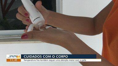 Cuidados com a pele também devem ser tomados durante o inverno, diz especialista. - Temperatura fria também requer uma atenção maior com a pele