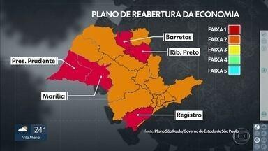 Governo de SP anuncia mudança na flexibilização da quarentena no Vale da Ribeira e Marília - É o caso das cidades na região de Registro, no Vale do Ribeira e de Marília, no Centro-oeste Paulista.