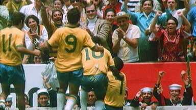 50 anos do tri: Esporte Espetacular revive o dia da final entre Brasil e Itália - 50 anos do tri: Esporte Espetacular revive o dia da final entre Brasil e Itália