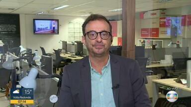 Octavio Guedes comenta risco do RJ sair do regime de recuperação fiscal - O estado precisa comprovar economia de R$ 31 milhões até 1º de julho. Octavio Guedes comenta.