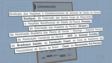 Entidades de saúde e ACP pedem isolamento social - Medidas de restrição de circulação podem evitar superlotação nos hospitais