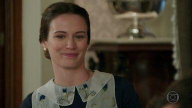 Maria percebe tristeza de Candinho e oferece ajuda - Sandra incentiva Anastácia a se desfazer do quadro pintado por Ernesto