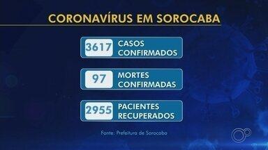 Sorocaba confirma 97 mortes e 3.617 casos positivos de coronavírus - A Prefeitura de Sorocaba (SP) registrou 211 novos casos de coronavírus nesta terça-feira (23). A cidade também anunciou uma nova morte pela doença.
