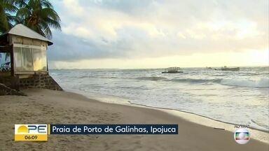 Secretário de Defesa Social de Ipojuca tira dúvidas sobre liberação das praias - Banho do mar está liberado, segundo Osvaldo Morais.