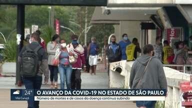 Covid-19 avança pelas cidades do interior de São Paulo - Na capital, segundo especialistas, a doença está mais controlada, mas medidas de isolamento devem continuar.