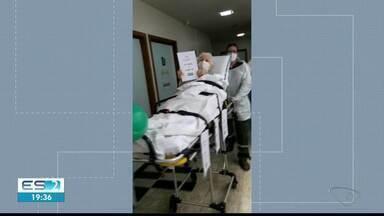 Profissionais da saúde comemoram alta de idosos curados da Covid-19 no Noroeste do ES - Veja na reportagem.