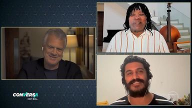 Programa de 24/06/2020 - Pedro Bial conversa com Criolo e Milton Nascimento