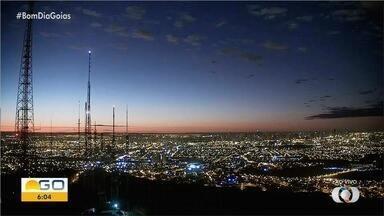 Veja como está o amanhecer em Goiás - Dia nasceu com 17ºC.