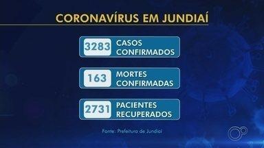 Jundiaí chega a 163 óbitos por coronavírus; cidade tem 3.283 casos positivos - A Prefeitura de Jundiaí (SP) registrou sete novos óbitos por coronavírus nesta quinta-feira (25). A cidade também anunciou 82 novos casos.