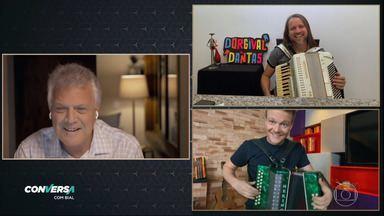 Programa de 26/06/2020 - Em clima de São João, Pedro Bial conversa os músicos Michel Teló e Dorgival Dantas.