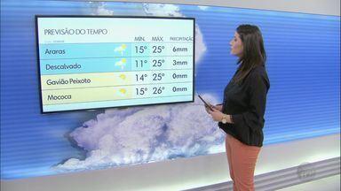 Veja como fica o tempo nesta segunda-feira na região - Semana deve começar com temperaturas mais frias.