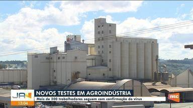 Novos testes nas agronidústrias, confirma diminuição nos casos de Covid-19 - Novos testes nas agronidústrias, confirma diminuição nos casos de Cov
