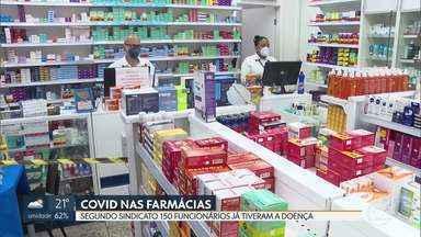 Cerca de 150 funcionários de farmácias já contraíram a Covid no DF - O Sindicato da categoria pediu ao GDF a testagem em massa para evitar que outros trabalhadores sejam infectados.