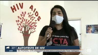 CTA de Floriano disponibiliza testes rápidos para HIV - CTA de Floriano disponibiliza testes rápidos para HIV