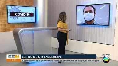 Secretária de Estado da Saúde fala sobre os percentuais de ocupação em Sergipe - Secretária de Estado da Saúde fala sobre os percentuais de ocupação em Sergipe.