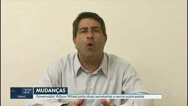 Witzel faz mais mudanças no primeiro escalão do governo - Secretário de Governo, Cleiton Rodrigues, ganha mais atribuições em meio ao processo de impeachment do governador.