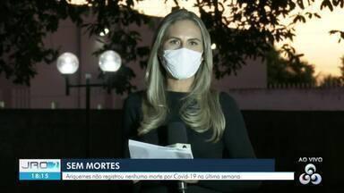 Ariquemes está há quase uma semana sem registrar novas mortes pela Covid-19 - Ariquemes é a segunda cidade com maior número de casos da doença em Rondônia