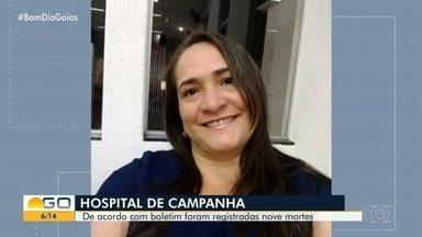 Técnica em enfermagem morre com suspeita de Covid-19 no Hcamp, em Goiânia - Secretaria de Saúde ainda aguarda resultado de exames para concluir a causa da morte. Ela é uma das nove pessoas que morreram na unidade entre domingo e segunda-feira.