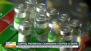 Campanha de vacinação contra a gripe é prorrogada em São Paulo - Doses serão distribuídas para o público alvo até o dia 24 de julho.